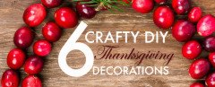 eco-friendly holiday decor, eco-friendly Thanksgiving decor, green holiday decor, DIY Thanksgiving decorations, craft, DIY, decor, how-to, Thanksgiving, holiday, seasonal, design