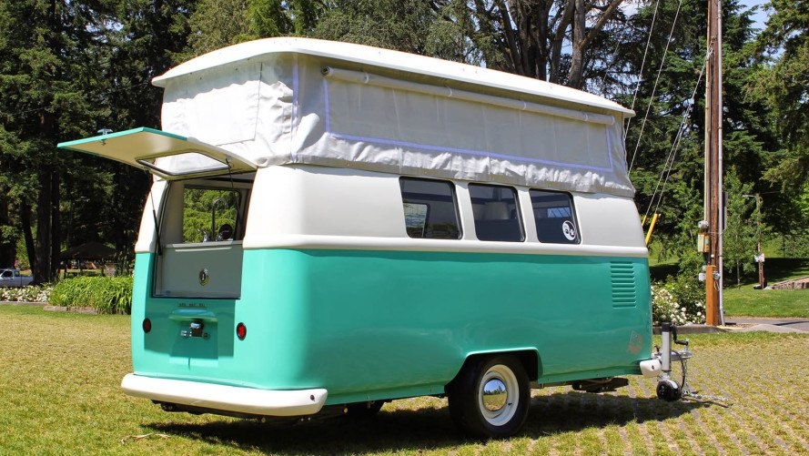 Dub Box USA Retro Camper Vintage VW Lookalike Lightweight
