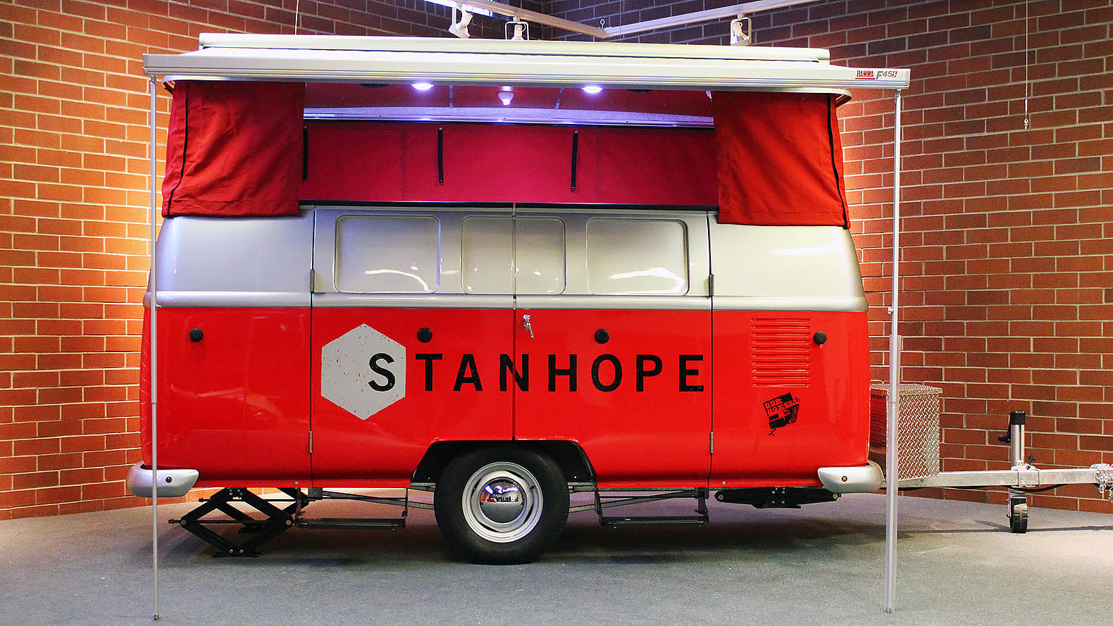Adorable Lightweight Dub Box Camper Combines VW Functionality With Retro Style