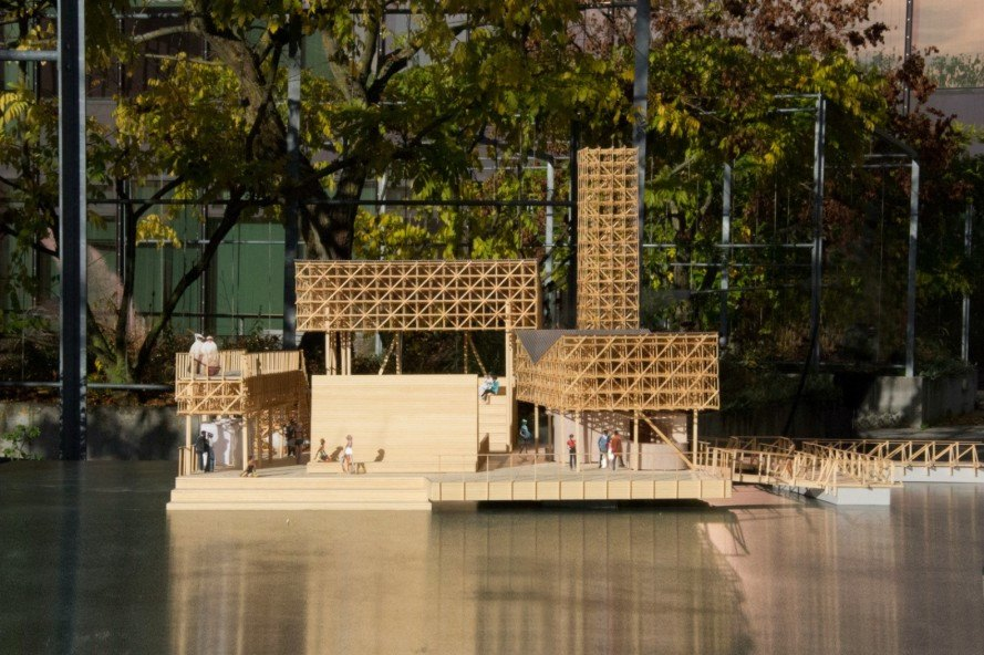 ETH Zurich, ETH Studio Emerson, Pavillon of Reflections, architecture, floating architecture, sustainable architecture, Manifesta 11, 6a Architects, student design, green design, floating cities, floating design, Studio Tom Emerson