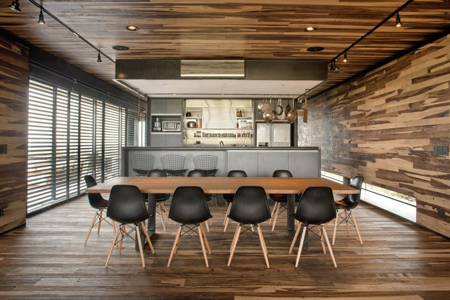Evans House, Evans home Argentina, Andes, Andes mountains, a4estudio, a4estudio Evans, nature inspired home, green design, locally sourced materials, steel exterior, green architecture, architecture
