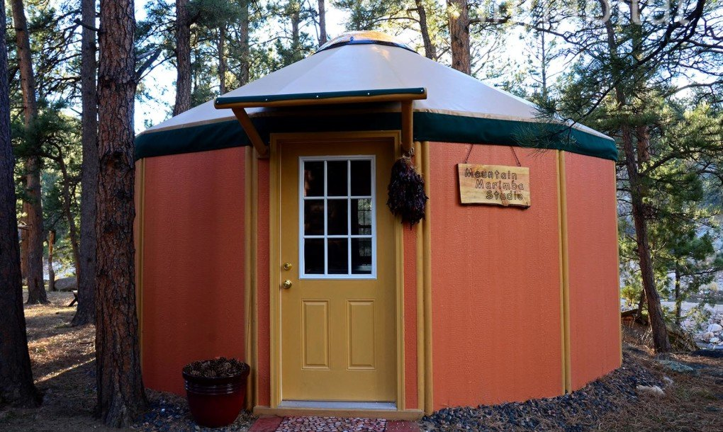 Freedom Yurt Cabins A Tiny Home For People Who Love Round