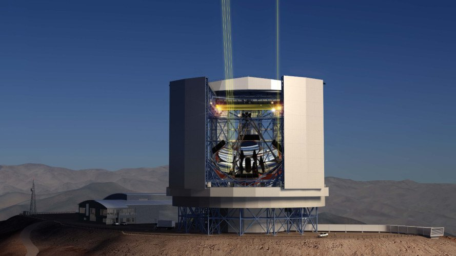 giant magellan telescope, biggest telescope in the world, world's largest telescope, space exploration, astrophysics, telescope, space images, chile, telescope mirrors, University of Arizona