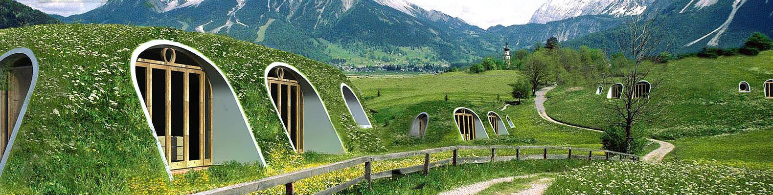 A Green Roofed Hobbit Home Anyone Can Build In Just Days