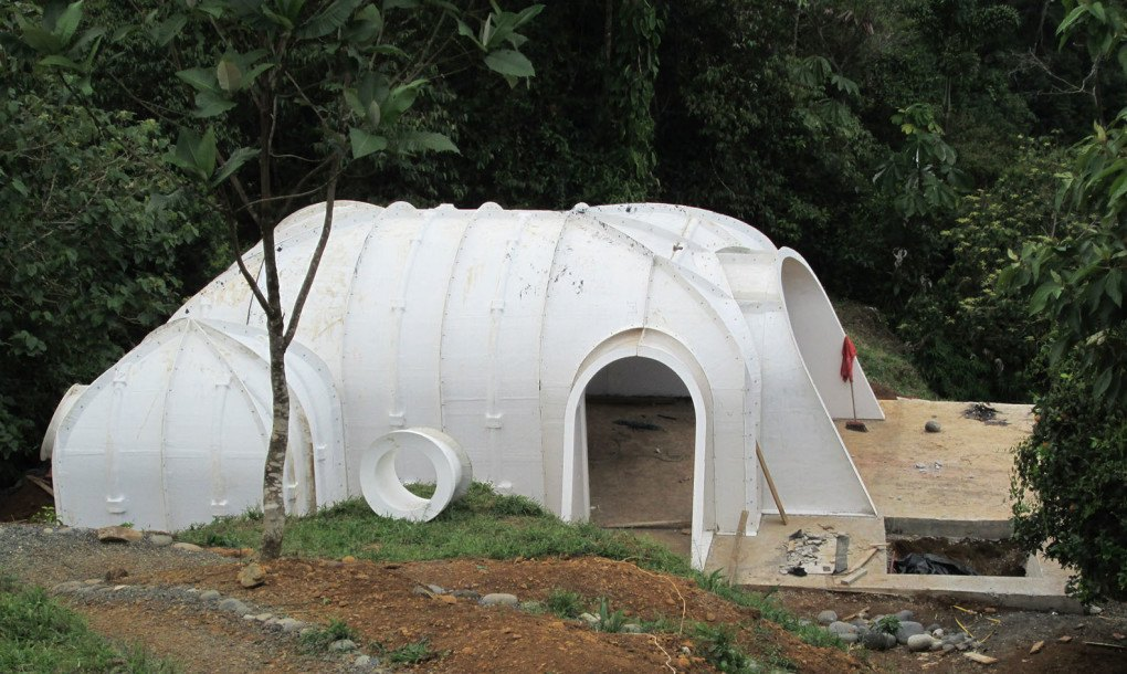 A Green Roofed Hobbit Home Anyone Can Build In Just 3 Days on Earth Sheltered Homes Cost