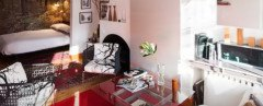 airbnb, andrea mitchell digital, andrea mitchell, greenwich village apartment, nyc studio apartment, tiny apartment, tiny apartment tips, small living, how to decorate small apartment, green design, eco design, sustainable design