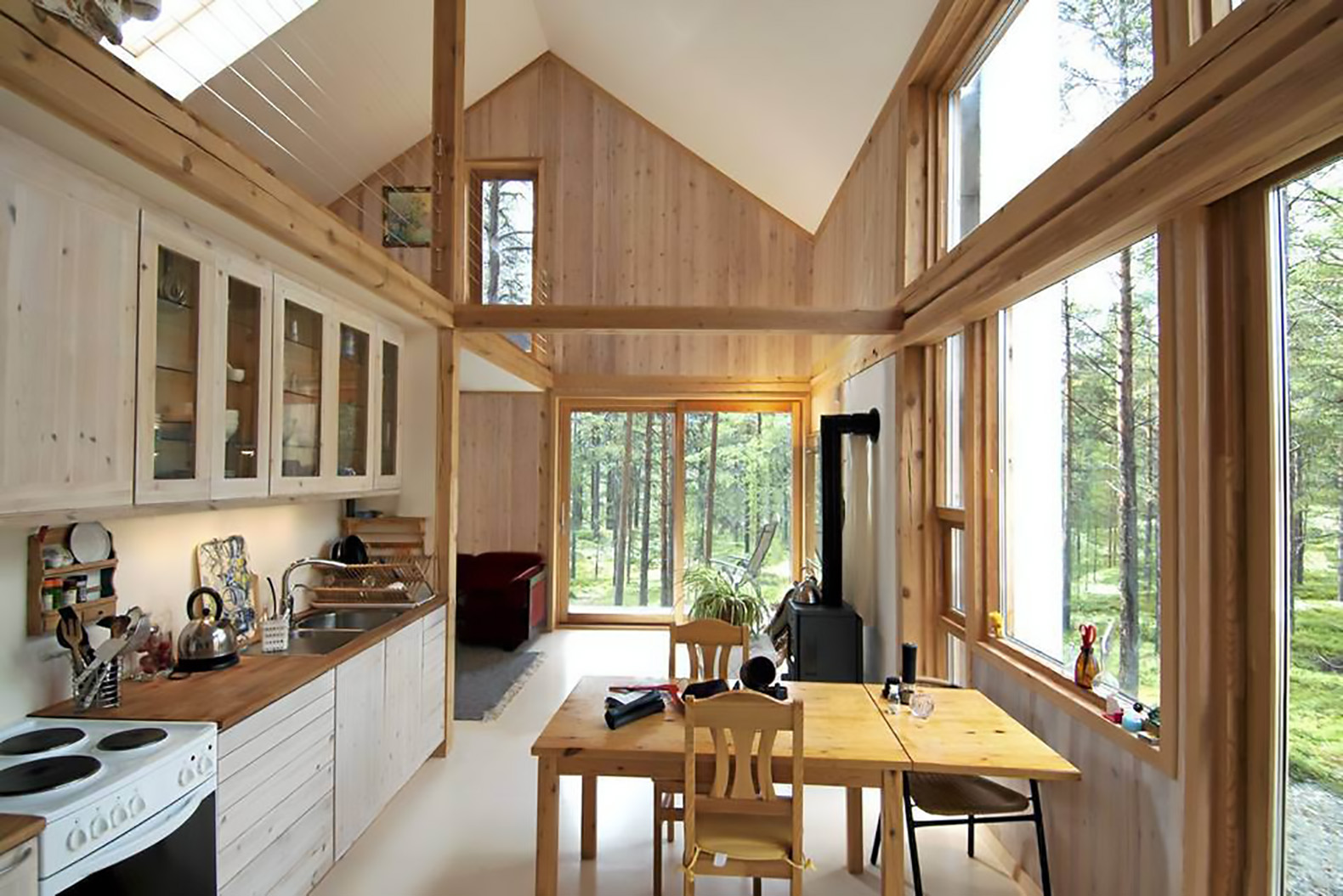 Cozy Timber Cabin In Norway Is Clad In Locally Sourced