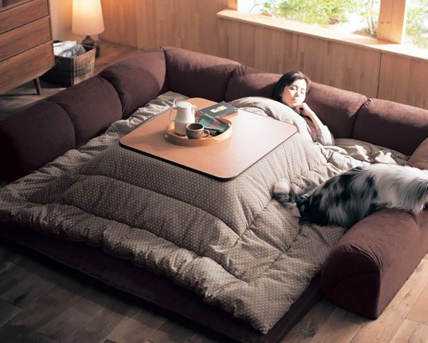 Slay Winter With A Heated Kotatsu Table Bed From Japan | Inhabitat   Green  Design, Innovation, Architecture, Green Building