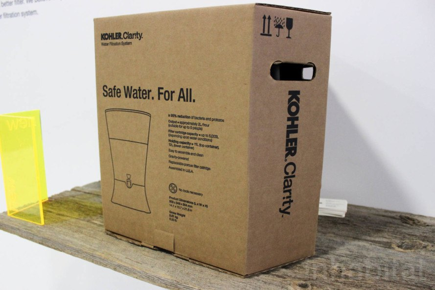 Kohler, World Vision, water purification, water filter, iDE, Water Mission, clean water, ceramic water filter, KOHLER Clarity, water filtration, water filtration system, low cost water filter, water crisis, access to clean water, Greenbuild, Greenbuild 2015