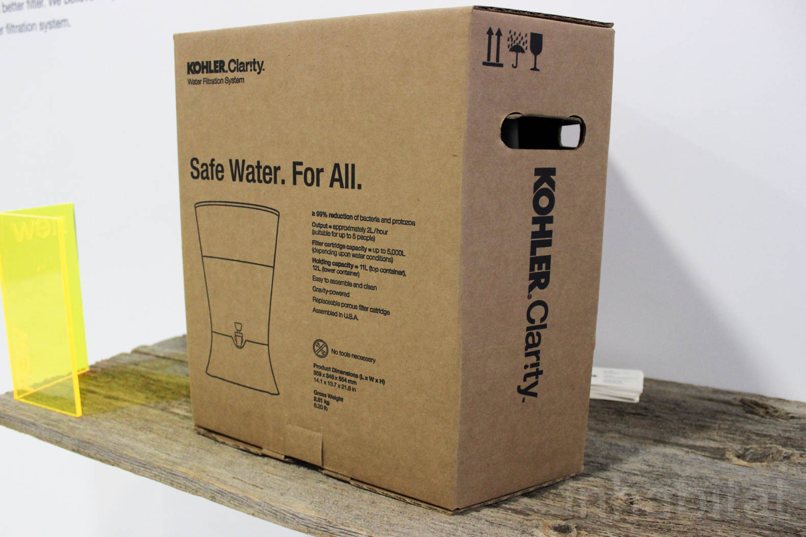Kohler, World Vision, Water Purification, Water Filter, IDE, Water Mission,