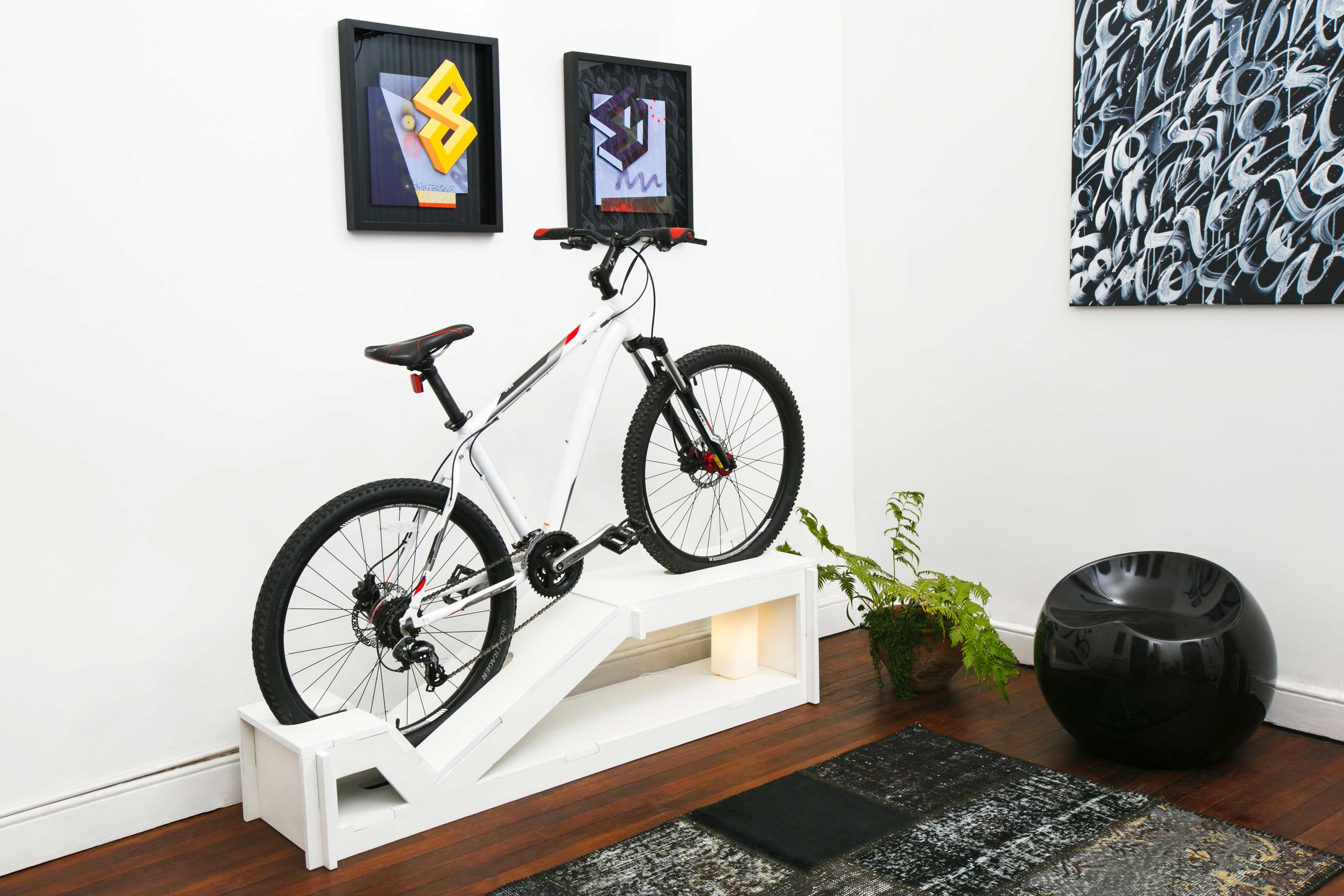 youtube hanging how easy build own this stands the your mount wonderful ideas garage bicycle storage review most mounted gear up etrailercom diy vertical make cheap doors plans shelves rack of a wall wooden largest bike and to with