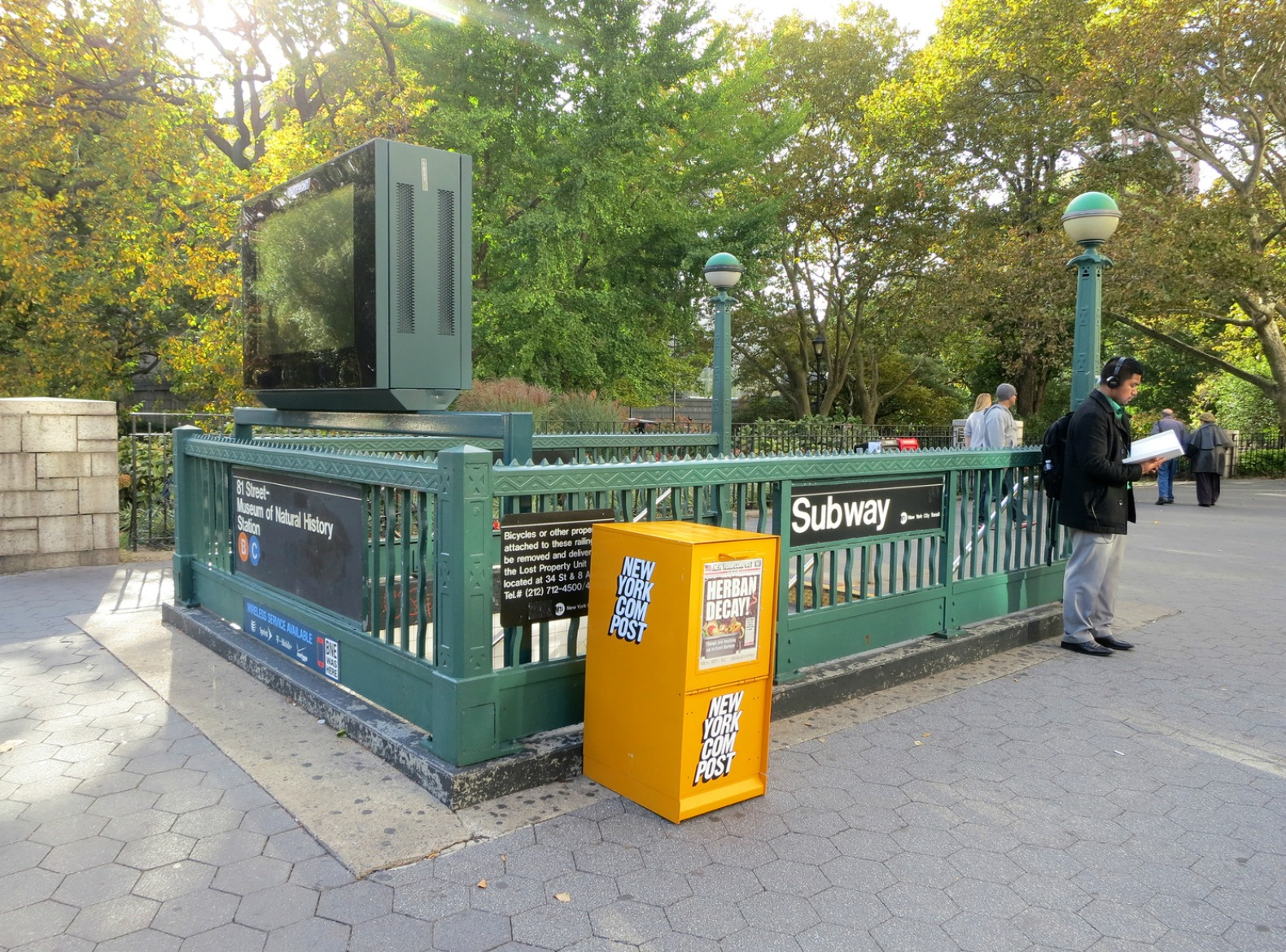 Guerrilla compost bins disguised as newspaper boxes hit the streets of NYC