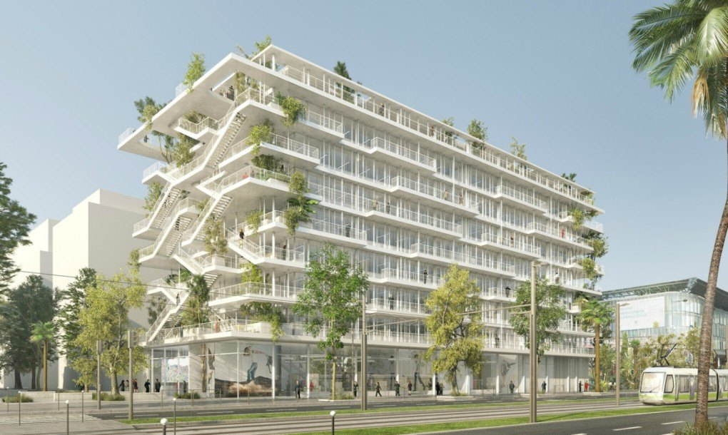 French Architects Unveil Plans For Bio climatic inside