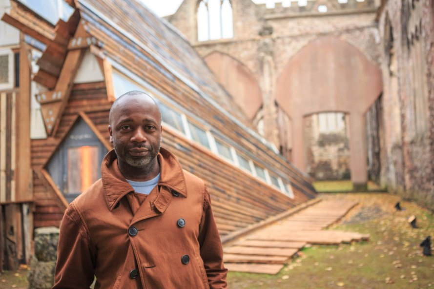 theaster gates, sanctum, bristol, united kingdom, temple church, English Heritage monument, bombed out church, art and sound, art from reclaimed materials