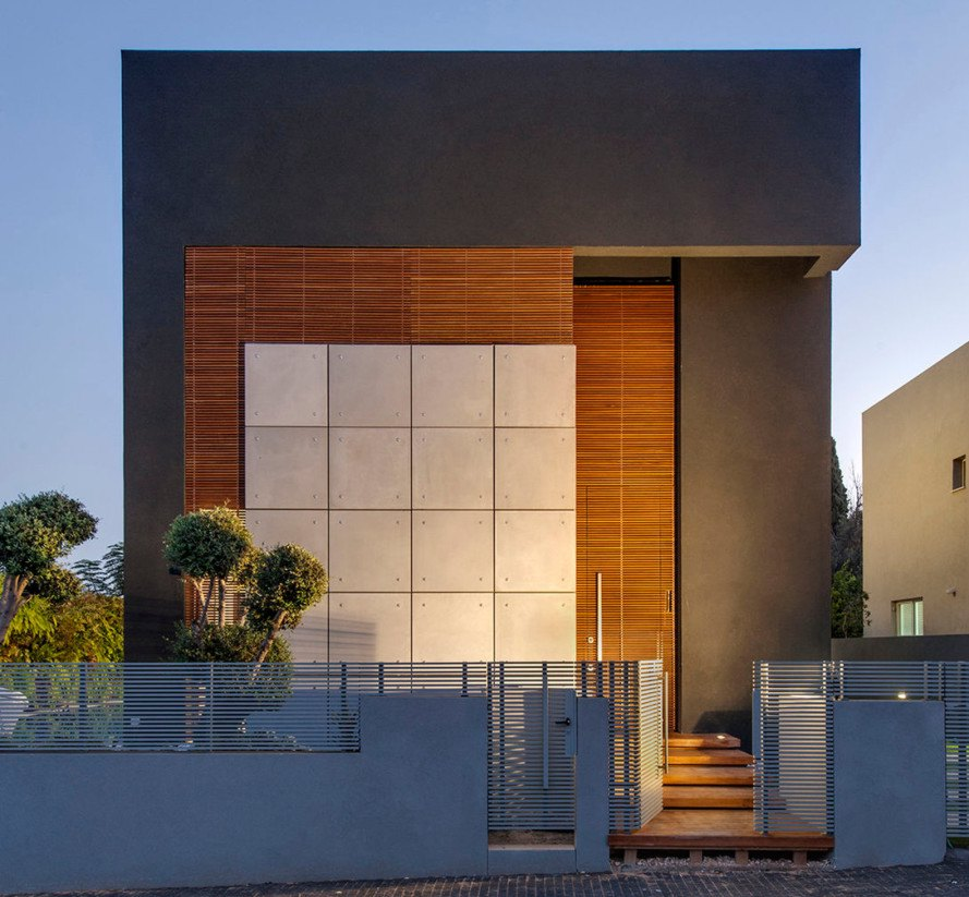 Building An Eco Friendly Home this small modern home in tel aviv boasts big eco-friendly