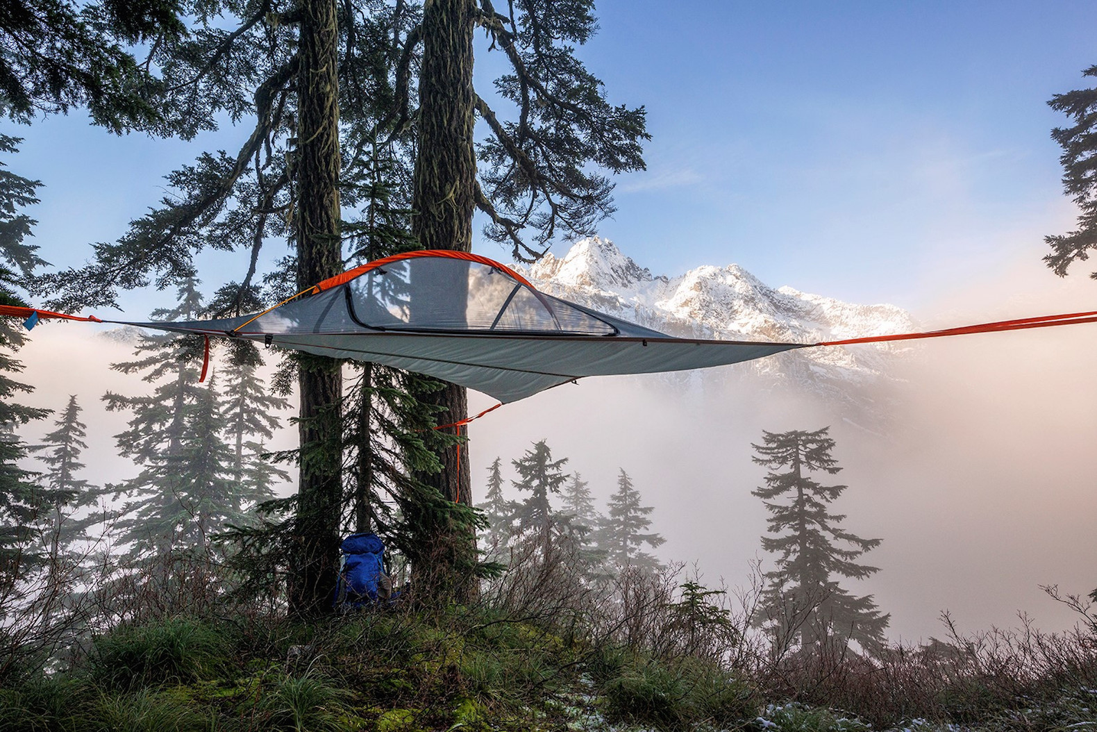Ultra-light and portable Flite tent lets you c& in the trees : tree tent hammock - memphite.com