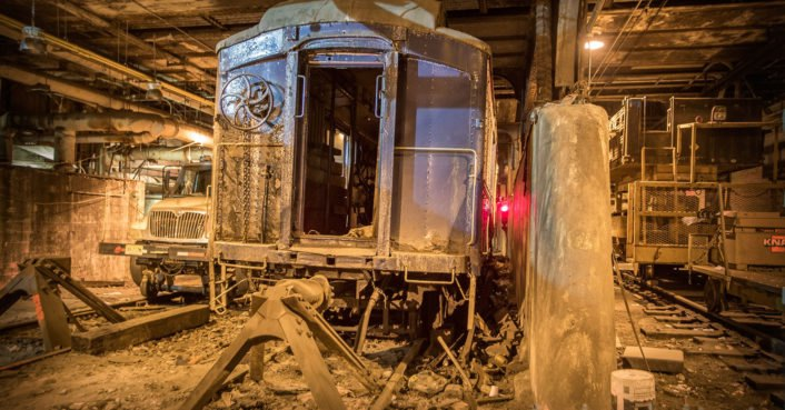 This secret train track was once used to transport VIPs into the Waldorf Astoria hotel