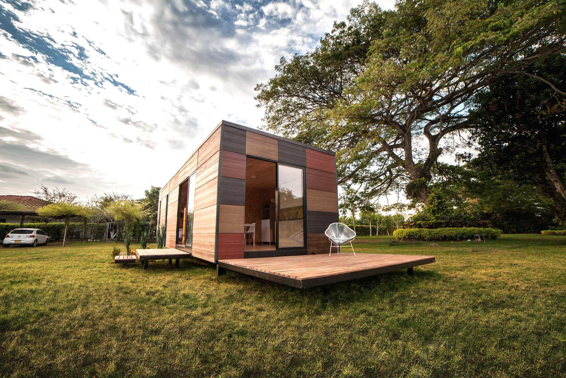 earthy modular vimob home can be erected in even the most  tiny prefab homes ct