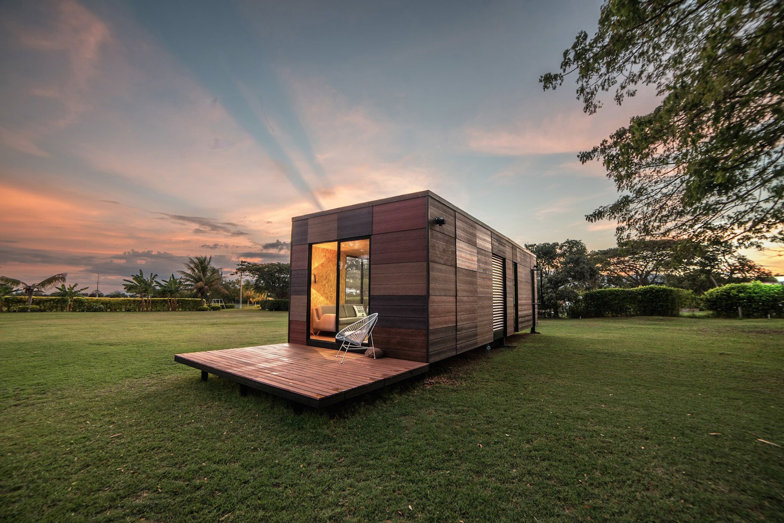 Earthy Modular VIMOB Home Can Be Erected In Even The Most Hard To Reach  Locations