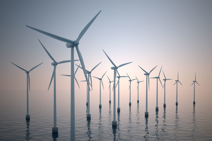 hywind project, world's largest floating wind farm, biggest floating wind farm, wind power, green energy, green power, clean energy , renewable energy