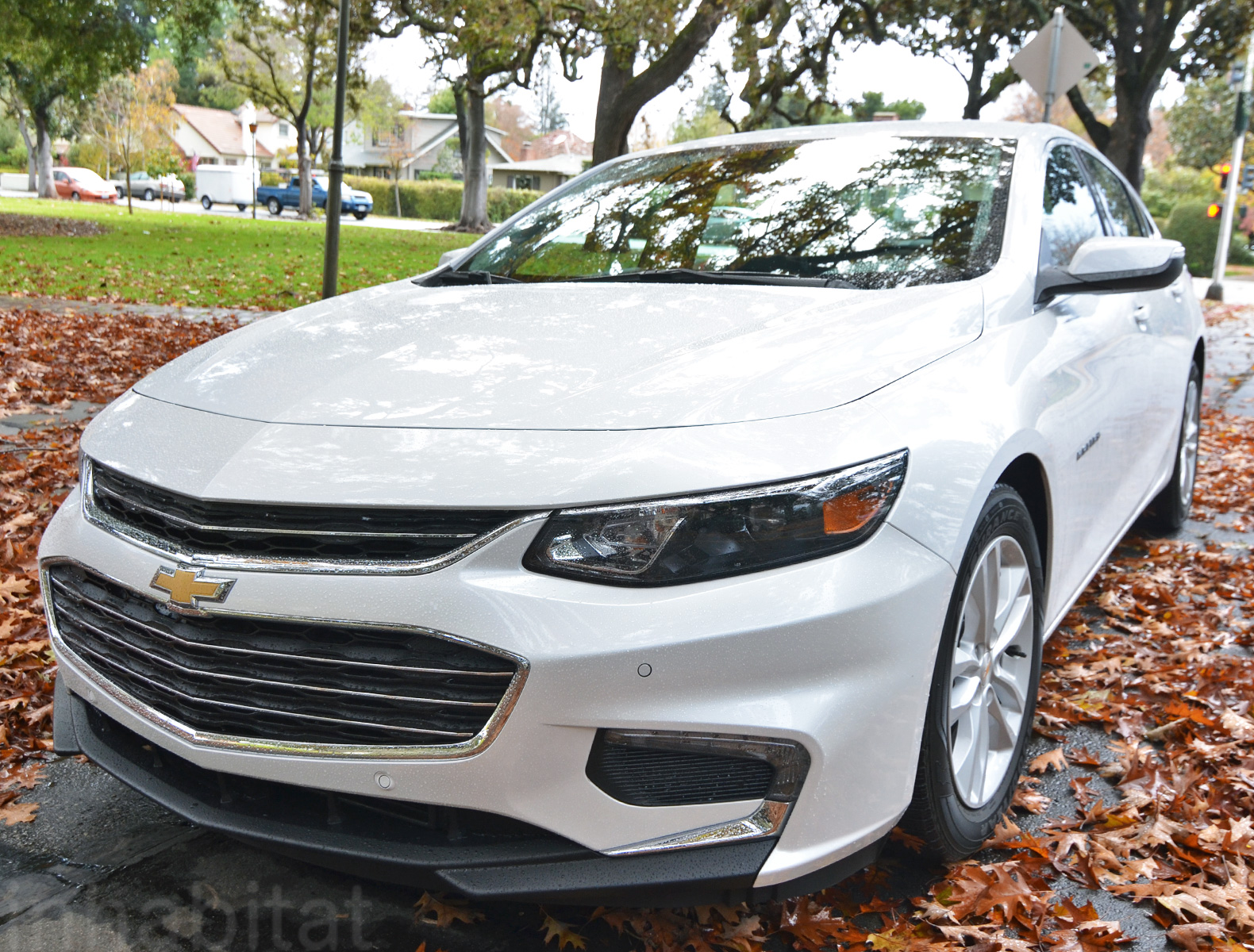 Test drive the 2016 chevrolet malibu hybrid is lighter larger and gets 47 mpg