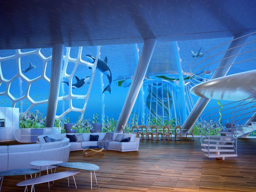 Aequoreas, Vincent Callebaut, energy consumption, energy eslf-sufficiency, floating architecture, ecosystems, organic farming, desalinization, algae, 3d printed architecture, 3d printing