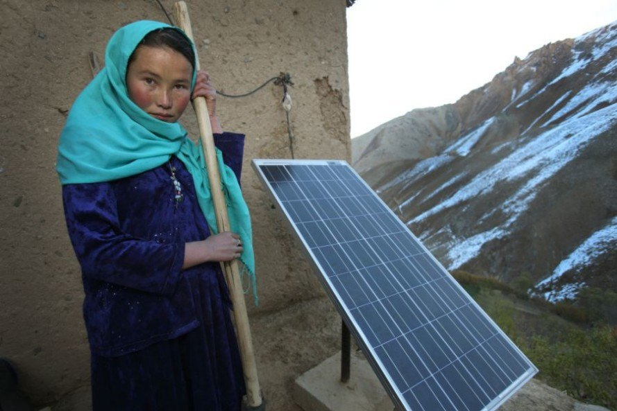 afghanistan, barefoot college, barefoot solar engineers, barefoot solar movement, barefoot movement, solar installations, solar power, solar power installations, solar power systems
