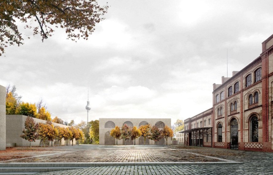 David Chipperfield Architects, Bötzow Brewery, Bötzow, Bötzow Brewery masterplan by David Chipperfield Architects, berlin, urban revitalization, mixed use,