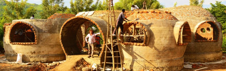 Kenya dome, Cheap Impact, dome home Kenya, Torsten Kremser, Mama Dolfine, Korando Educational Center, Kenya charity, brick dome construction Kenya, Kenyan orphanage dome
