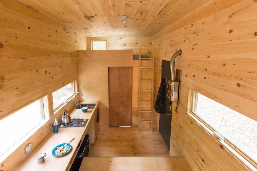 Patrick Mulroy, getaway, Clara by Getaway, Harvard Innovation Lab, tiny house, tiny homes, rent tiny house, untreated wood, micro home