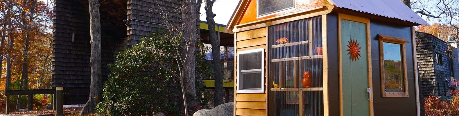 8 Year Old Cub Scouts Build Their Own Tiny House Studio To Raise Funds |  Inhabitat   Green Design, Innovation, Architecture, Green Building