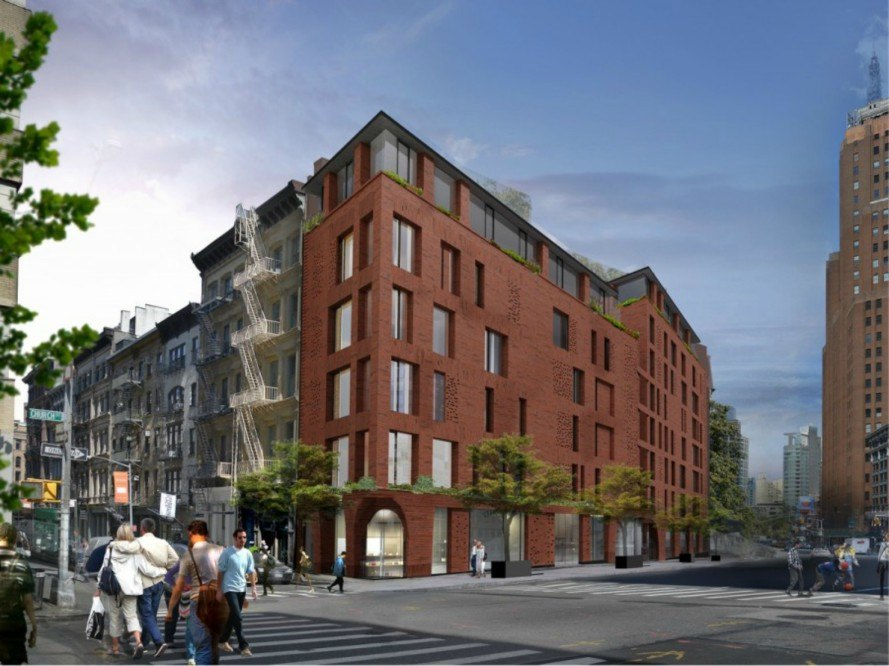 Ddg S New Tribeca Condos Wrap Modern Green Features Within