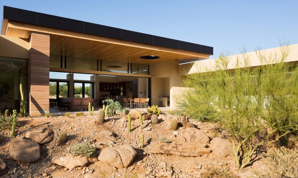 Gorgeous desert home blurs the lines between indoor and outdoor living inhabitat green - Villa decor desert o architecture ...