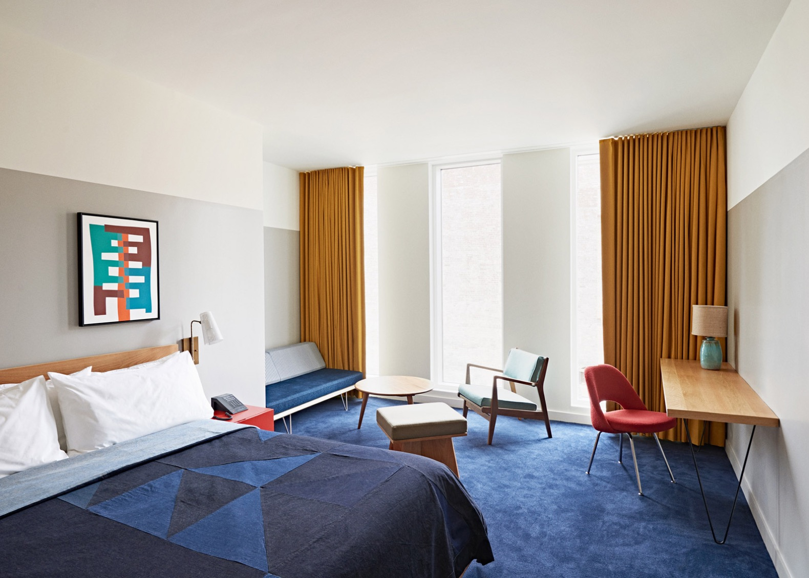1960S Interior Design Striking 1960S Bank Transformed Into Retrochic Durham Hotel