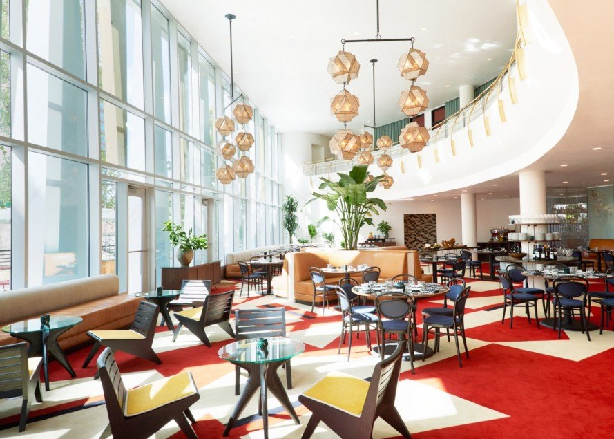 Retro Bank Design.Striking 1960s Bank Transformed Into Retro Chic Durham Hotel