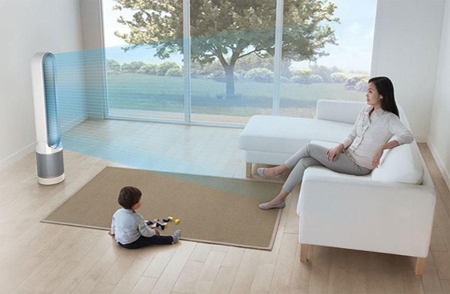 Dyson reviews, Dyson Pure Cool, Dyson Pure Cool air purifier review, air purifier reviews, Inhabitat reviews, James Dyson, home air quality, good air purifiers for small spaces, quiet air purifiers