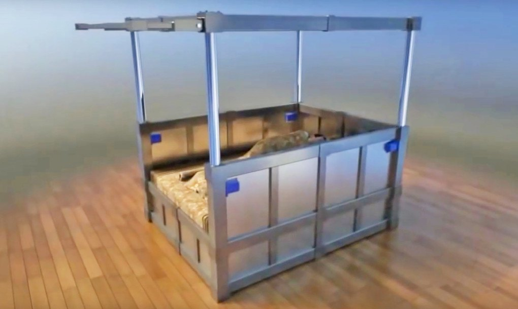 Habitat Air Bed : Earthquake proof beds could save your life and give you