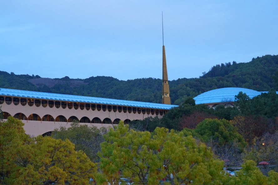 Marin County Civic Center, Frank Lloyd Wright, San Rafael, Frank Lloyd Wright building, best Frank Lloyd Wright building, most famous Frank Lloyd Wright building, Gattaca