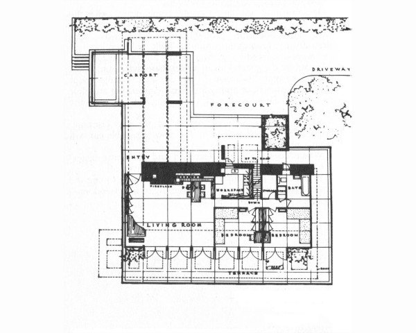 Usonian House Floor Plans Thefloors Co