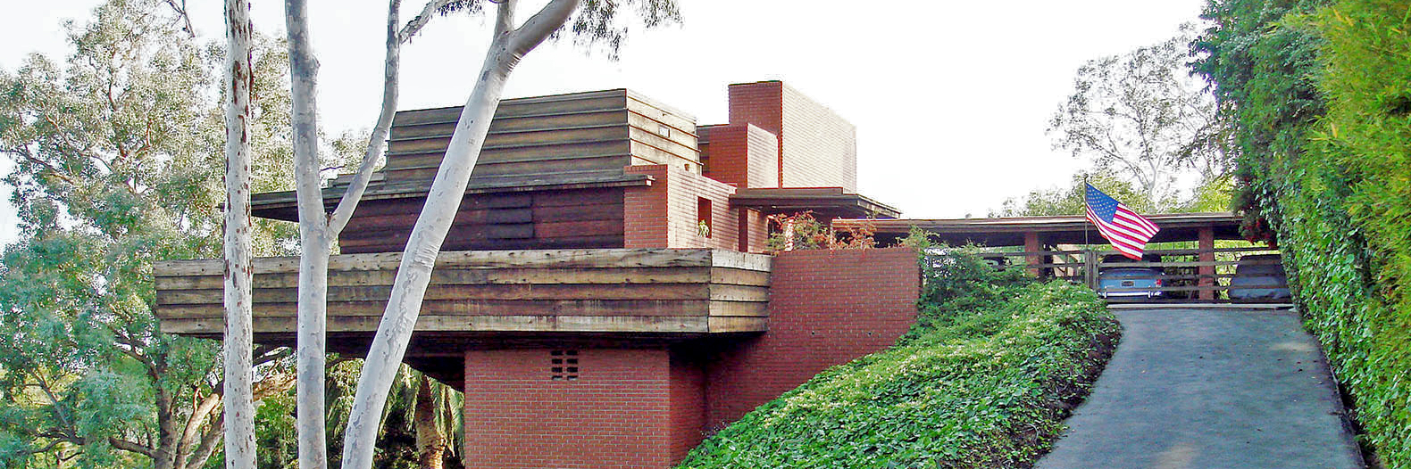 frank lloyd wright inhabitat green design innovation frank lloyd wright s usonian style george sturges house to be sold at auction