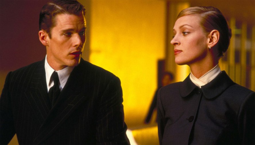 Gattaca, Ethan Hawke, Uma Thurman, Marin County Civic Center, Frank Lloyd Wright design, Marin County Civic Center