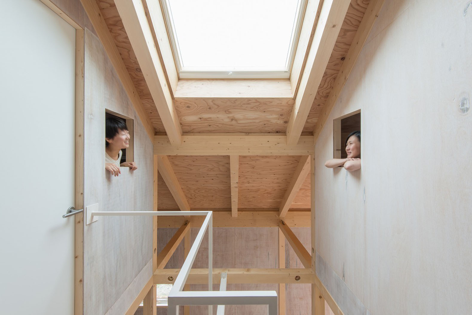 Thermal insulation inhabitat green design innovation tidy japanese home mimics the greenhouse effect to keep warm dailygadgetfo Images