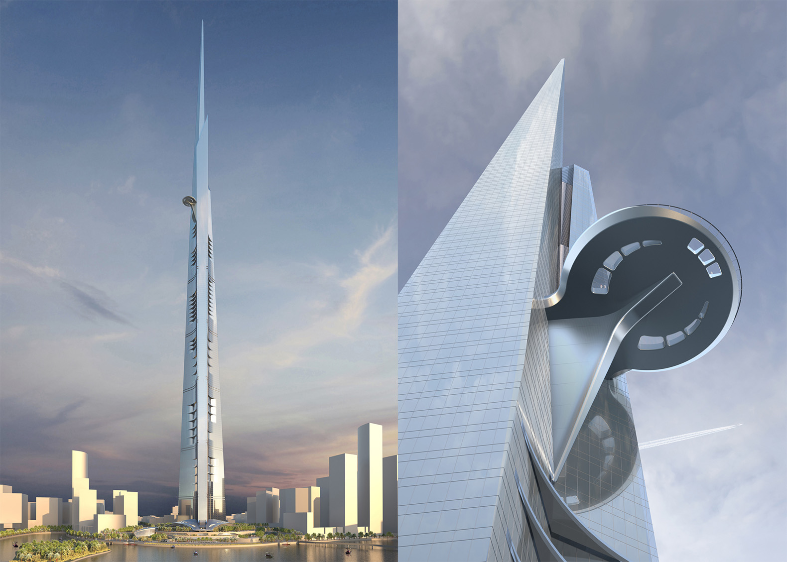 The world's tallest tower will dwarf the Burj Khalifa at