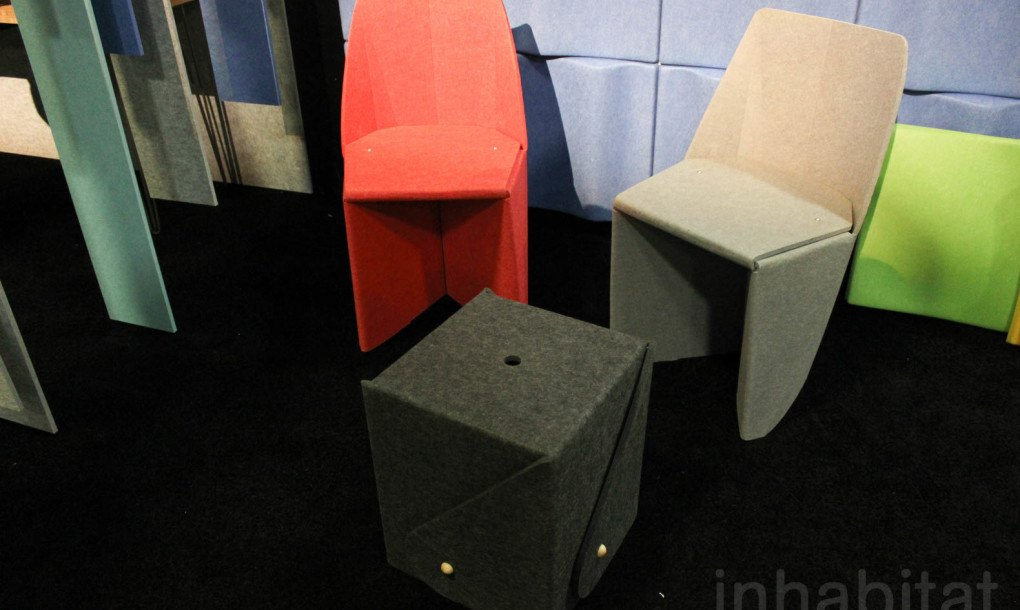 Beautiful Sound Absorbing Echopanels Are Made From