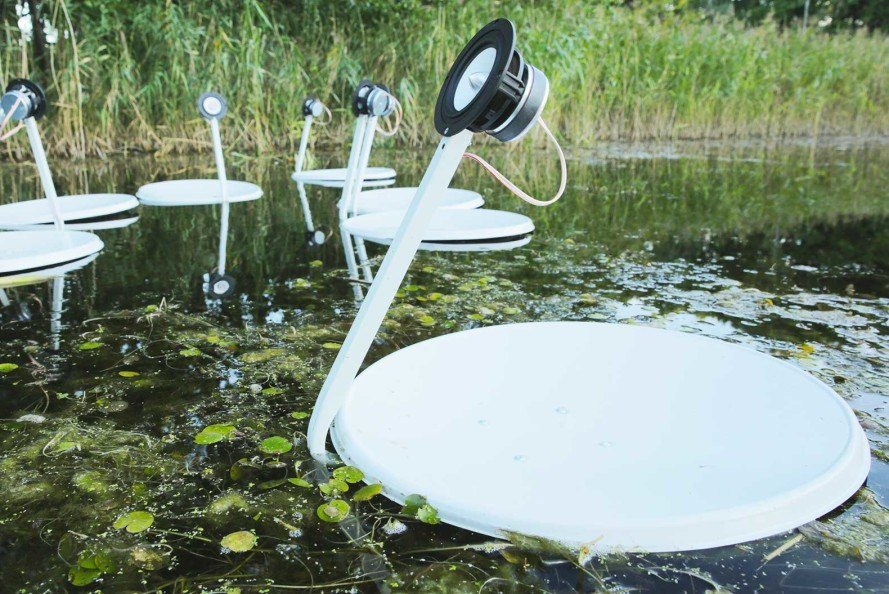 Marco Barotti S Recycled Satellite Dishes Swans