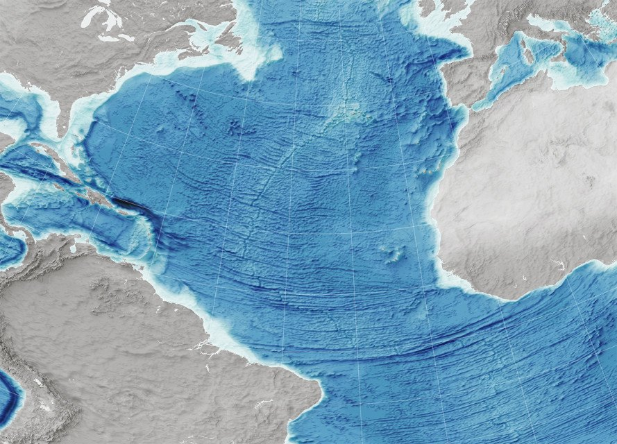 ocean floor, ocean floor map, ocean map, underwater map, nasa ocean floor map, nasa satellite, geodesy, gravity map, gravitational pull, gravity and ocean floor, seamounts, david sandwell, walter smith