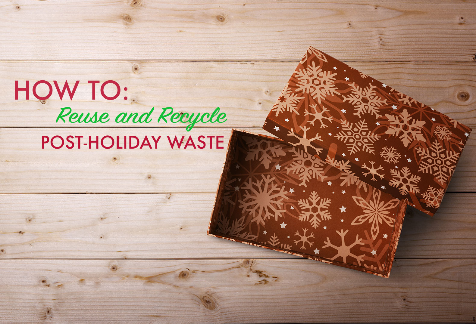 recycle, post holiday waste, reuse, electronics, clothing, donations, charity, gift swap, christmas tree, Goodwill