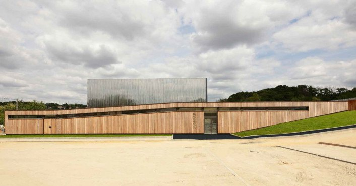 School Complex Les Bartelottes By Nomade Architects