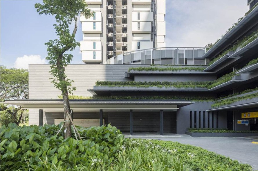 Singapore's solar-powered Sky Terrace residential towers ...
