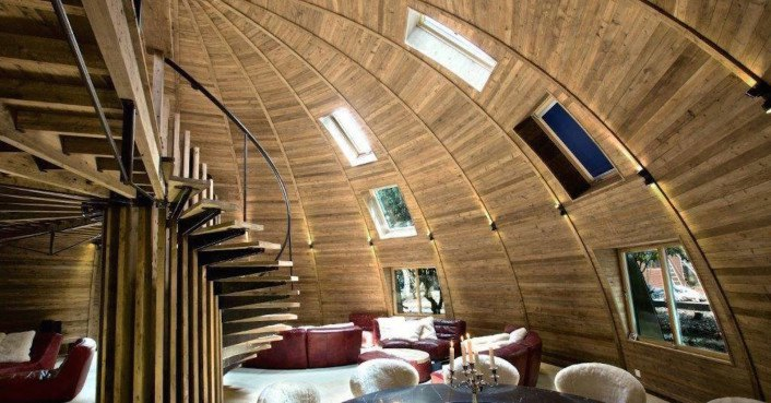 Gorgeous Russian Dome Home Of The Future Withstands